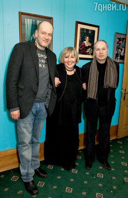 Денис Евстигнеев, Марина Голуб ифотограф Валерий Плотников