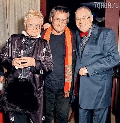 Светлана Конеген и Андрей Житинкин поздравили Александра Журбина спремьерой