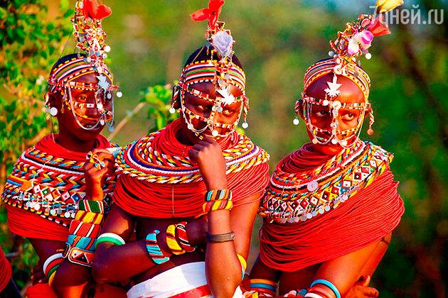 Племя самбуру. Национальный парк Самбуру, Кения