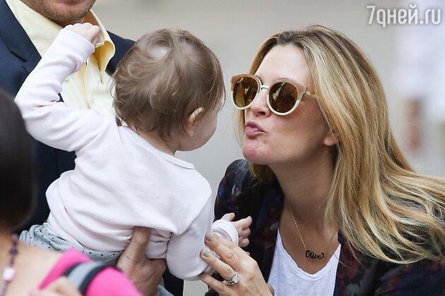 Дрю Бэрримор (Drew Barrymore) с дочерью