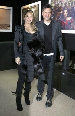 Шакира и  фотограф Жауме де Лайгуана