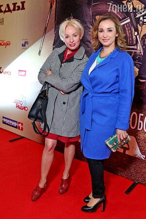 Жанна Эппле и Анфиса Чехова