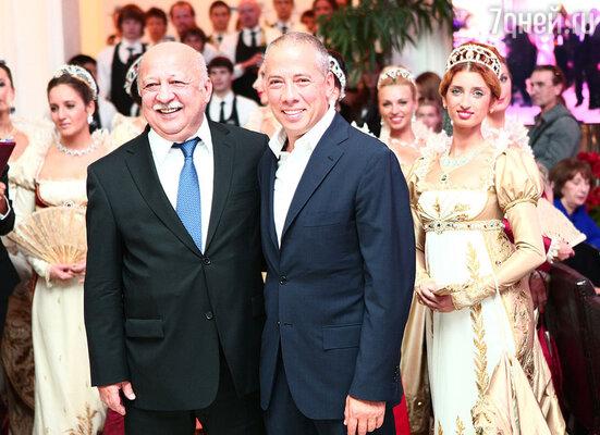 Аркадий Новиков и Анатолий Иксанов
