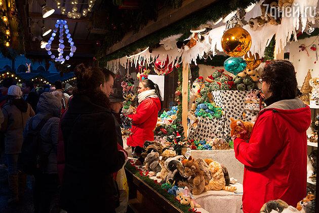 Рождественская ярмарка в Осло