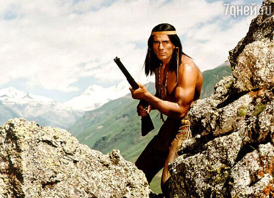 Кадр из фильма «Чингачгук — Большой Змей »