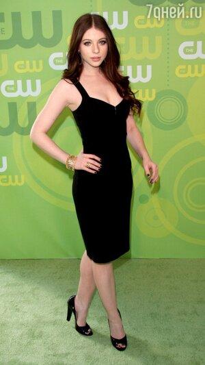Мишель Трахтенберг на презентации CW Network Upfronts Presentation в 2008 году