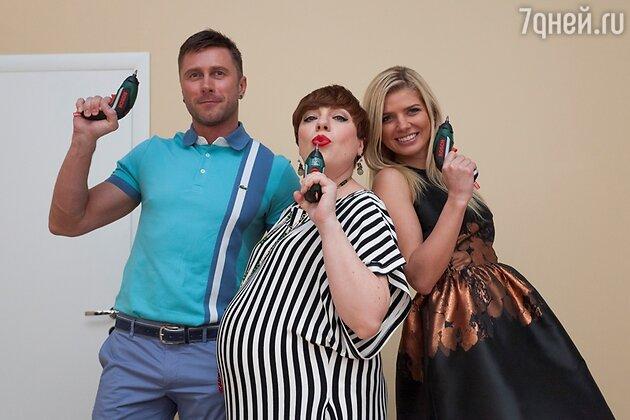 Анастасия Задорожная, Тутта Ларсен и Константин Гайдай