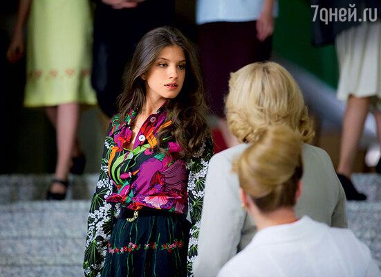 Анна Чиповская играет хваткую актрису, любовницу режиссера