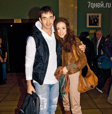 Дмитрий Певцов и Анна Большова