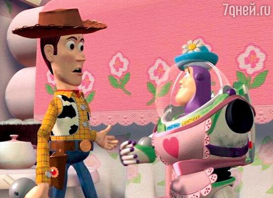 Кадр мультфильма «История игрушек-2»