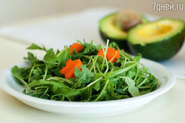 Низкокалорийный салат от Ирины Салтыковой