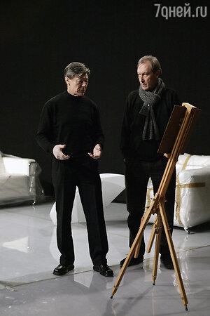 Александр Збруев и Олег Янковский