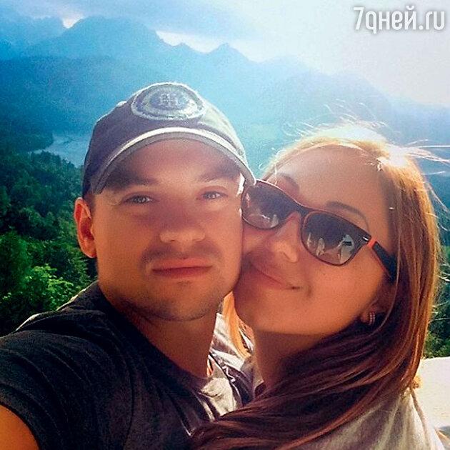 Андрей Гайдулян с невестой Дианой