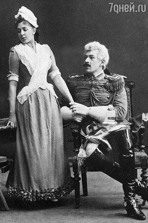 Константин Станиславский и Марья Перевощикова