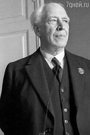 Константин Станиславский. 1937 г.
