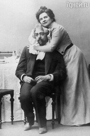 Константин Станиславский и Ольга Книппер