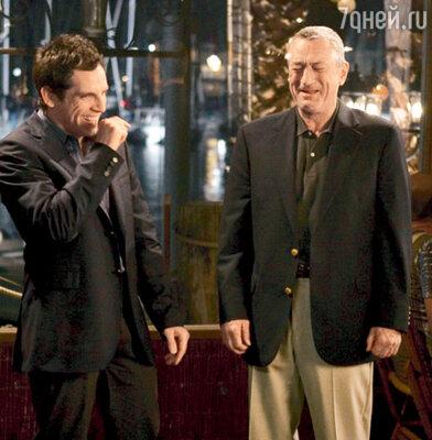 Де Ниро снова встретится с Беном Стиллером на съемочной площадке