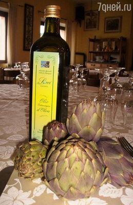Оливковое масло с запахом свежескошенной зелени