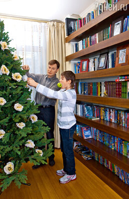 «Обычно к Новому году мы начинаем готовиться на следующий же день после дня рождения старшего сына, который выпадает на 13 декабря»