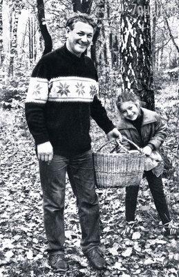 Я любила ходить с ним по грибы