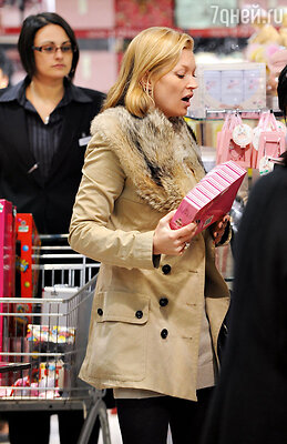 Кейт Мосс нараспродаже вЛондоне