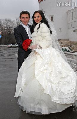Свадьба Юрия Жиркова и  Инны Грачевой, Москва, 8 февраля 2008 г.