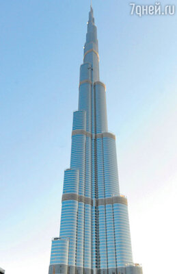 Съемки проходили на 130-м этаже 828-метрового небоскреба