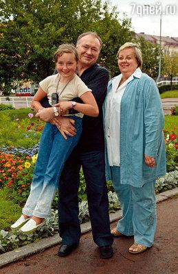 Мы любили ездить на фестивали всей семьей. Это фото сделано в Выборге в 2004 году