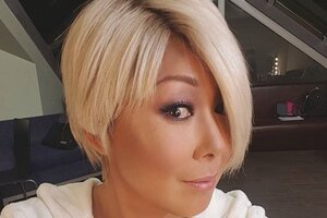 Анита Цой поправляет здоровье на гастролях