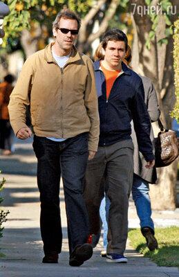Со старшим сыном Чарльзом