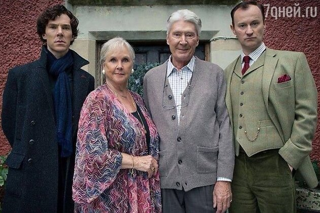 Родители Бенедикта Камбербэтча «Шерлок»