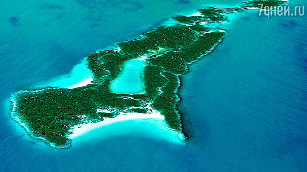 Остров Little Hall's Pond Cay