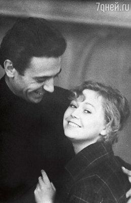 Александр Лазарев и Светлана Немоляева накануне свадьбы.
