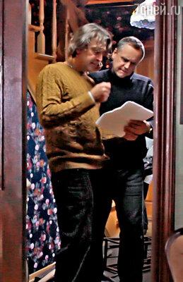 Адександр Лазарев с Андреем Соколовым