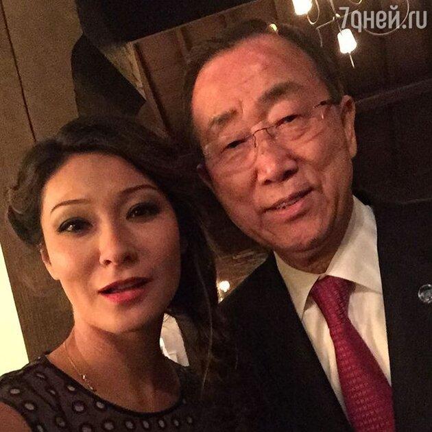 Марина Ким  Пан Ги Мун