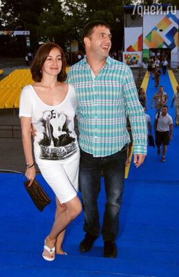 Владимир Вдовиченков с женой Ольгой
