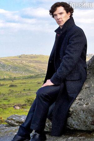 Бенедикт Камбербэтч в сериале «Шерлок»