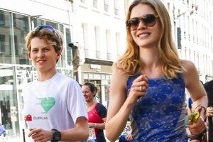 Наталья Водянова организует первый благотворительный забег в Парке Горького
