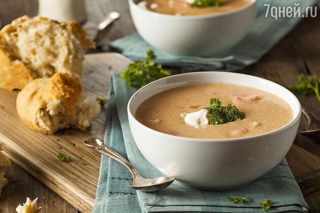 Крем-суп по-французски