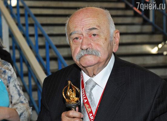 Режиссер Резо Чхеидзе получил приз «За вклад в мировой кинематограф »