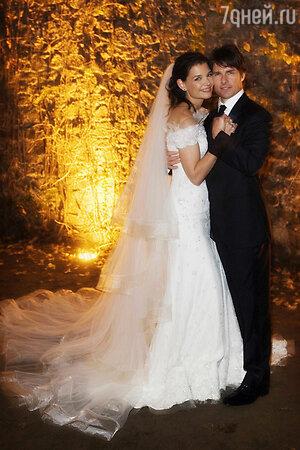 Свадьба Кэти Холмс и Тома Круза