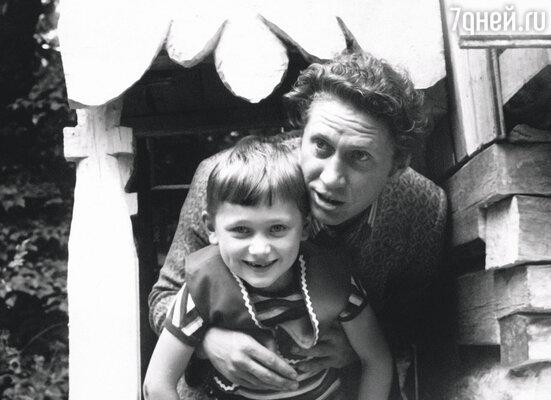 Юрий Кузьменков с сыном Степаном