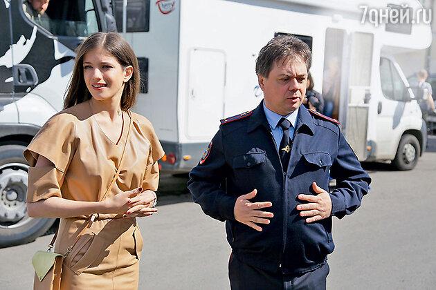 Партнером Анны Чиповской в одном из эпизодов стал Андрей Леонов