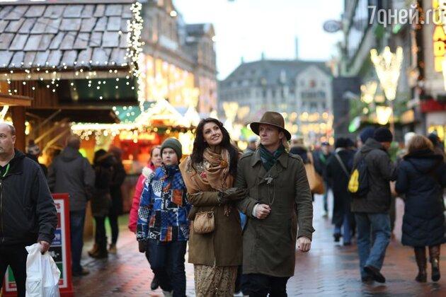 Настя и Глеб прогулялись по рождественскому Утрехту