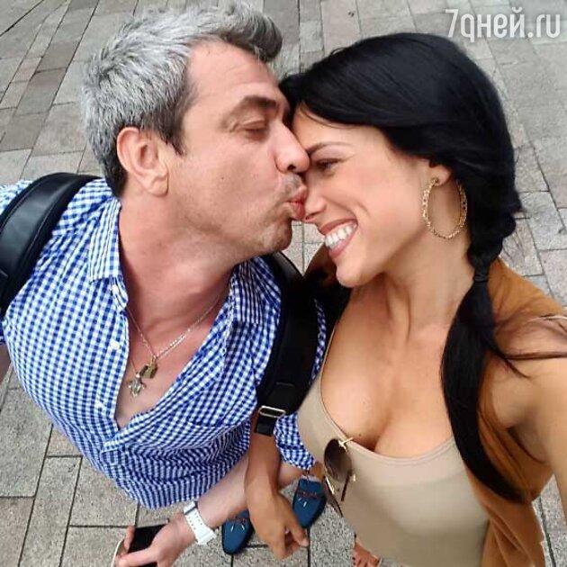 Ольга Романовская с мужем Андреем