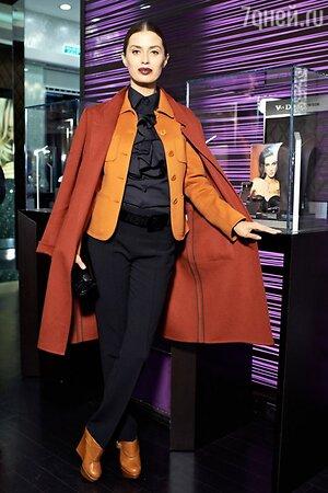 Виктория Боня на праздновании годовщины со дня открытия первого в России бутика швейцарского ювелирного бренда
