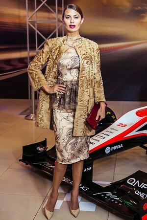 Виктория Боня на премьере фильма «Гонка»