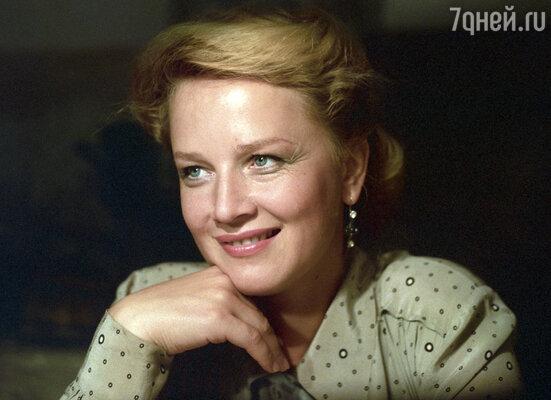 Моя первая жена актриса Наталья Егорова