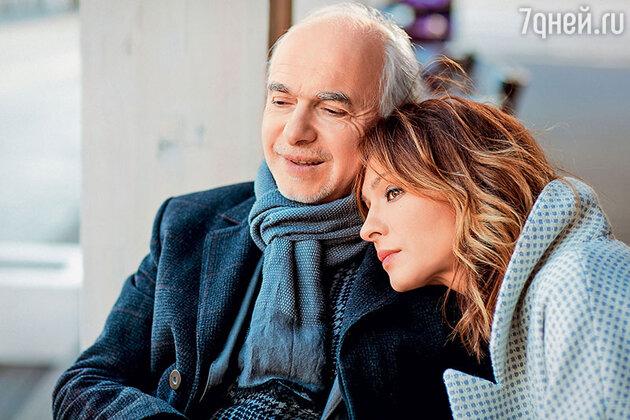 Елена Подкаминская с отцом