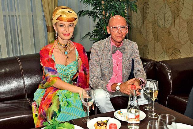 Амалия Мордаинова (Гольданская) с Игорем Игнатенко